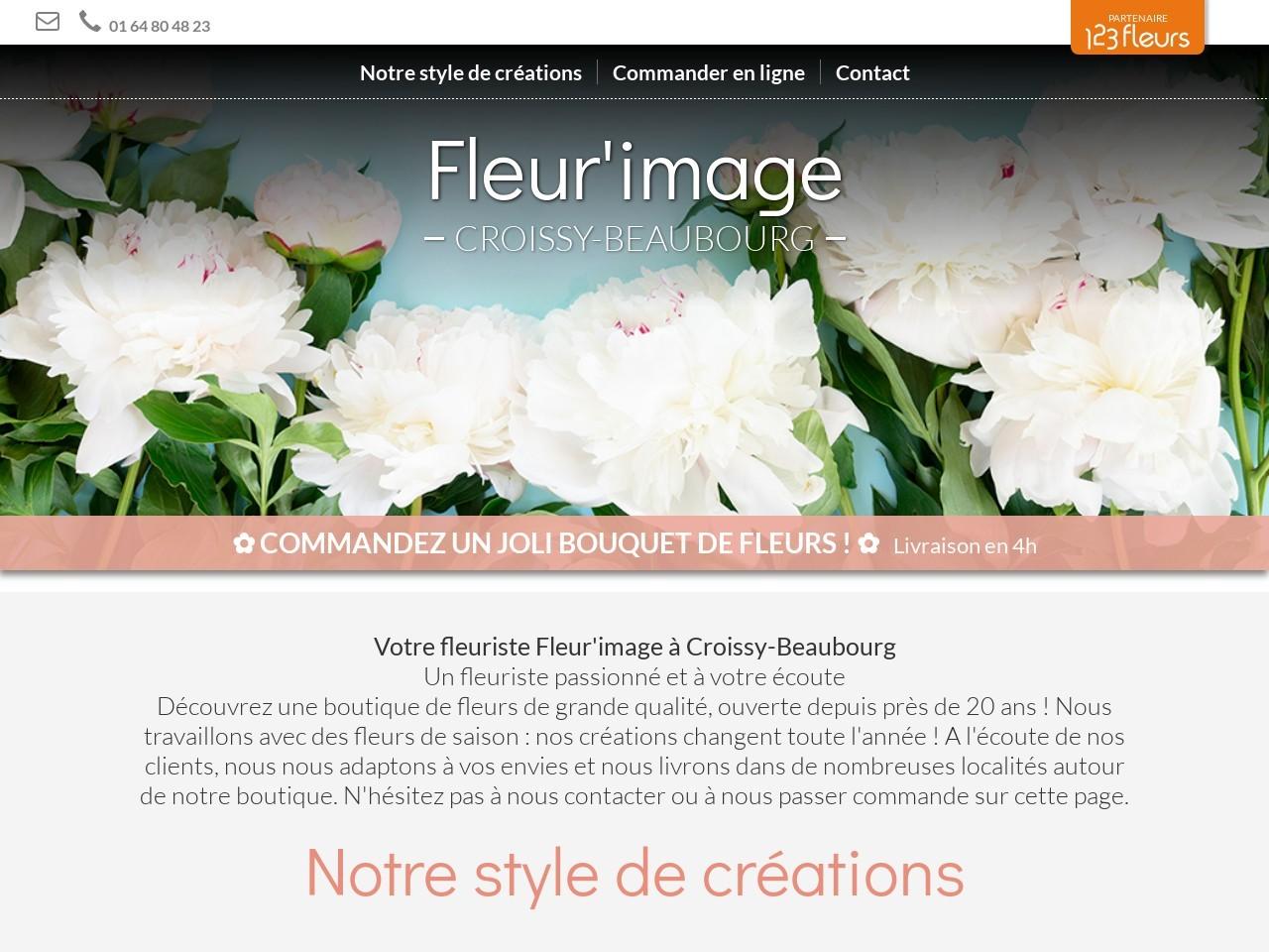 Site fleuriste Fleurimage - 123fleurs